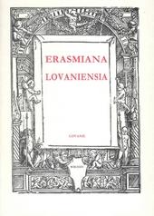 Erasmiana Lovaniensia