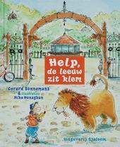 Help, de leeuw zit klem