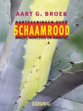 Schaamrood : aantekeningen over angst, agressie en ambitie