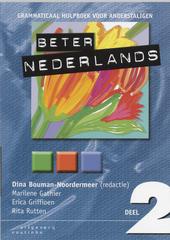 Beter Nederlands : grammaticaal hulpboek voor anderstaligen. Deel 2