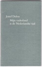 Mijn vaderland is de Nederlandse taal