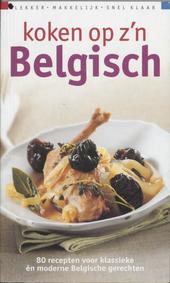 Koken op z'n Belgisch
