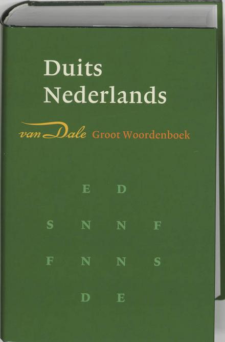 Van Dale groot woordenboek Duits-Nederlands