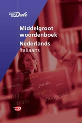 Van Dale Zanichelli middelgroot woordenboek Nederlands Italiaans