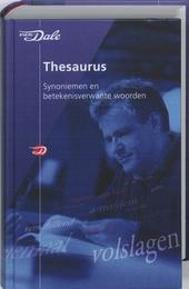 Van Dale thesaurus synoniemen en betekenisverwante woorden