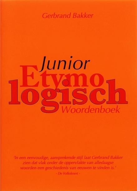 Junior etymologisch woordenboek