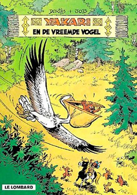 Yakari en de vreemde vogel