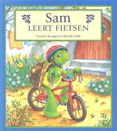 Sam leert fietsen
