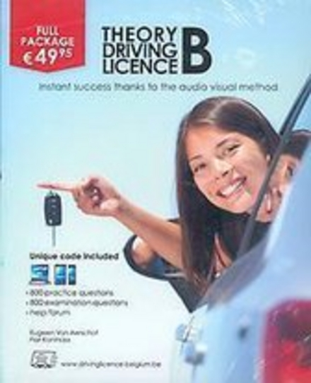 Theory driving licence B : instant success thanks to the audio visual method