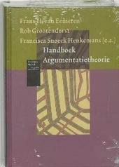 Handboek argumentatietheorie : historische achtergronden en hedendaagse ontwikkelingen