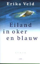 Eiland in oker en blauw