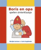 Boris en opa spelen sinterklaasje