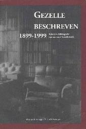 Gezelle beschreven 1899-1999 : selectieve bibliografie van een eeuw Gezellestudie