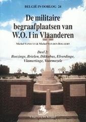 De militaire begraafplaatsen van W.O.I in Vlaanderen