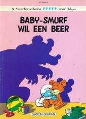 Baby-smurf wil een beer