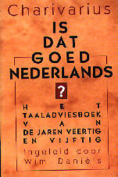 Is dat goed Nederlands ?