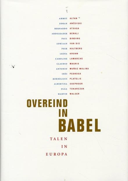 Overeind in Babel : talen in Europa
