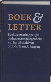 Boek & letter : boekwetenschappelijke bijdragen