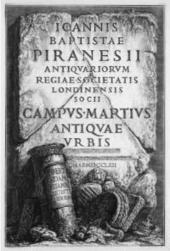Piranesi : de prentencollectie van de Universiteit Gent