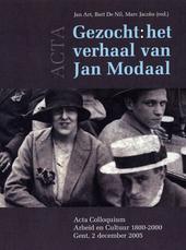 Gezocht: het verhaal van Jan Modaal : acta colloquium arbeid en cultuur 1800-2000