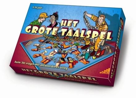 Het grote taalspel : superspannend van a tot z