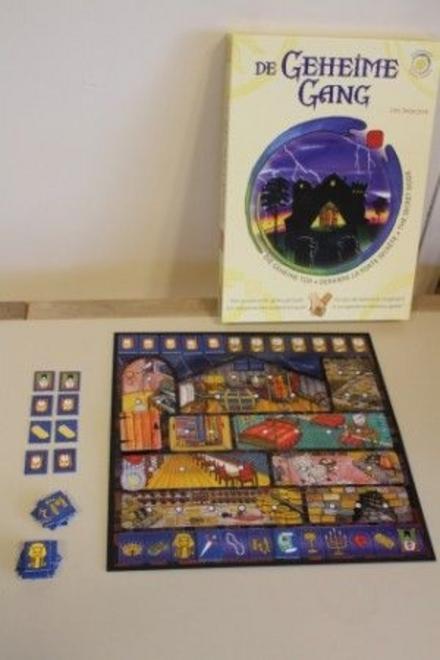 De geheime gang : een coöperatief geheugenspel