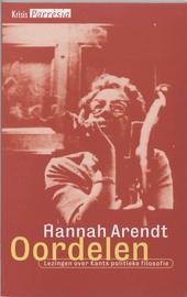 Oordelen : lezingen over Kants politieke filosofie