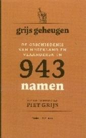 Grijs geheugen : de geschiedenis van Nederland en Vlaanderen in 943 namen
