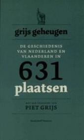 Grijs geheugen : de geschiedenis van Nederland en Vlaanderen in 631 plaatsen