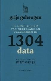 Grijs geheugen : de geschiedenis van Nederland en Vlaanderen in 1304 data