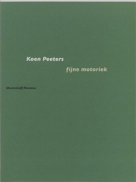 Fijne motoriek : gedichten