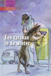 Een caravan in de winter