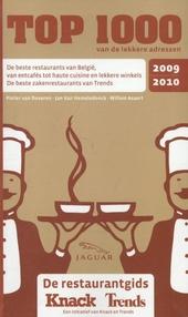 Top 1000 van de lekkere adressen 2009-2010