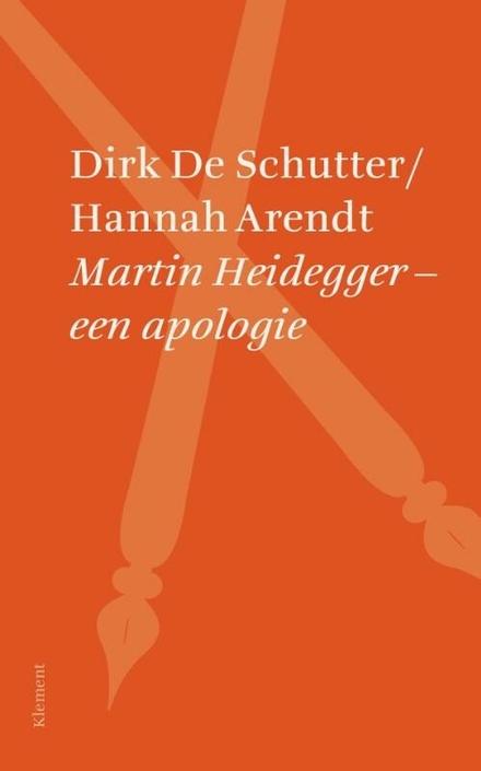 Martin Heidegger : een apologie