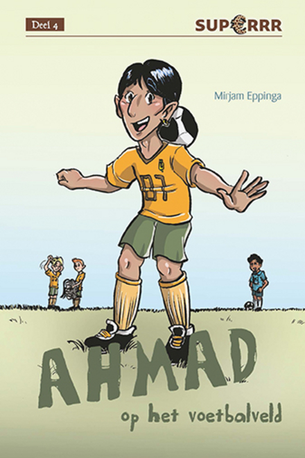 Ahmad op het voetbalveld