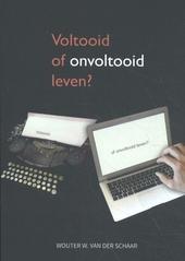 Voltooid of onvoltooid leven? : een psychologisch wetenschappelijke bijdrage