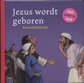 Jezus wordt geboren : prentenbijbelboekje : Lucas 1:26-38 ; 2:1-7 ; 2:8-20 ; 2:25-40