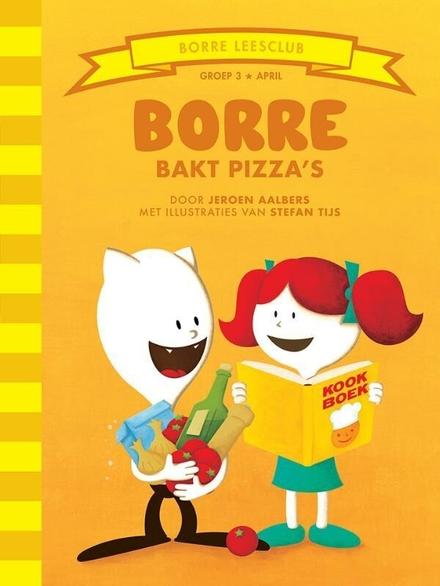 Borre bakt pizza's