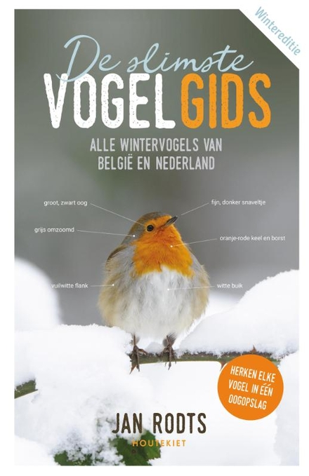 De slimste vogelgids : alle wintervogels van België en Nederland
