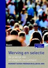 Werving en selectie : de praktijk van strategisch recruitment
