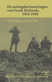De oorlogsherinneringen van Frank Richards 1914-1918