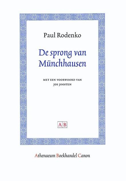 De sprong van Münchhausen - Het experiment van de dichter