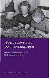 Honderdvijftig jaar levenslopen : de historische steekproef Nederlandse bevolking