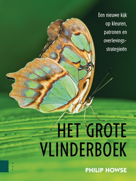 Het grote vlinderboek : een nieuwe kijk op kleuren, patronen en overlevingsstrategieën
