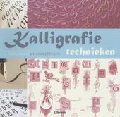 Kalligrafietechnieken : een geïllustreerde handleiding voor kalligraferen & handletteren