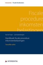 Handboek fiscale procedure inkomstenbelastingen