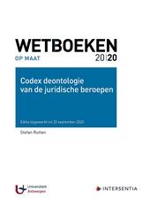 Codex deontologie van de juridische beroepen 2020-2021
