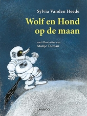 Wolf en Hond op de maan