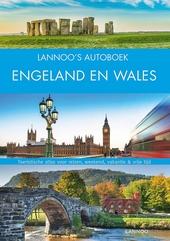 Lannoo's Autoboek Engeland en Wales : toeristische atlas voor reizen, weekend, vakantie & vrije tijd