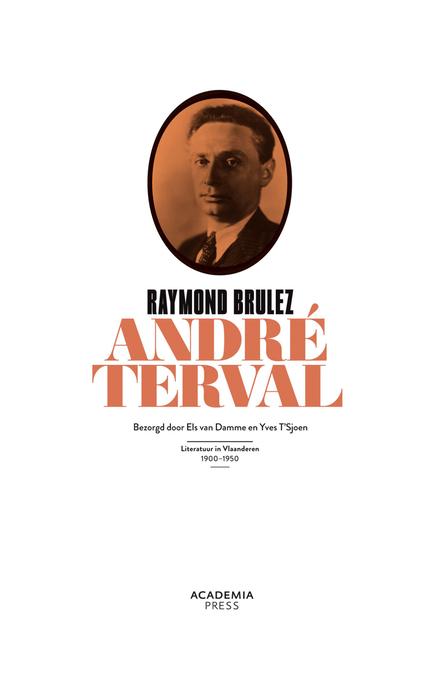 André Terval, of Inleiding tot een leven van gelijkmoedigheid